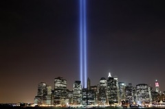 Moment of Silence for Those Lost on United Airlines Flight 175 and at the World Trade Center